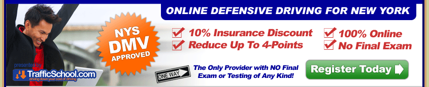 Online NYS Defensive Driving