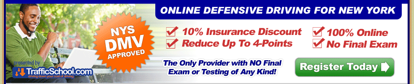 NYSDMV Approved Defensive Driving