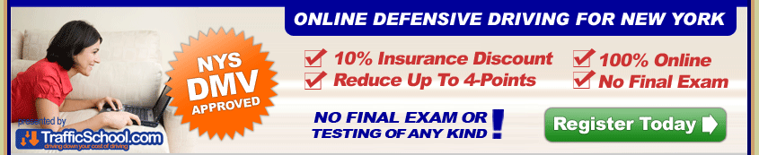 NY State DMV Approved Defensive Driving